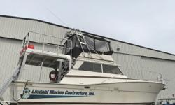 Customized utility boat. Lots of electronics updates and various upgrades in 2016. Runs great, and would make a fantastic dive boat or charter. Trades considered. CANVAS AFT DECK HARDTOP (BROWN) BRIDGE ENCLOSURE DECK ANCHOR W/LINES BOW PULPIT W/RAIL