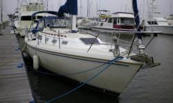 The Classic 34 Catalina, CAROLINA BREEZE is a Tall Rig / Shoal Draft Wing Keel version of thispopular & proven cruiser. Well equipped including air conditioning anda completelate modelelectronics package. An above average boat in