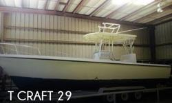 Actual Location: Sarasota, FL - Stock #097123 - SWEET T CRAFTT craft is a commercial boat built between the 1950-1980s timeframe and much sought after by captains and serious fishermen. The company is now located on the West Coast of Florida and primarily