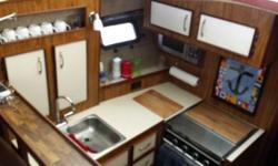 1700.00 dollar price drop!! Trades may be considered for smaller pontoons or runabouts. Nice 30' Carver. 1981 3007 Aft Cabin, single 454 Mercruiser (150 hrs newer block), Newer Genset, Air Condition, marine toilet, water heater, stove, fridge and more!!