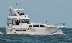 PRICED FOR QUICK SALE!! This Bertram 42 MY has been exceptionally well cared for! The comfortable interior has two staterooms and a spacious full galley. Powered by twin 435 Detroit Diesel 6-71-TIs, cruise speed is approximately 20mph and tops out at