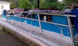 Great party boat. Includes 40 HP Mercury outboard. Beam: 8 ft. 0 in.