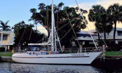 Serious World Cruiser with Custom Interior >>> Price Dropped $18,500.00 on September 5, 2016 <<< WINTERHAWK has proven the vision designers, Holmann & Eicklholt had for an attractive, timeless vessel. With&nbsp;clipper bow, flush-deck, aft-cockpit & canoe