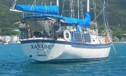 Xanadu IV (Hull #134) is one of the finest examples of this well-loved Bill Shaw classic on the market. She's been modernized with a bow thruster and repowered, and has been maintained lovingly by her current owners. There are many of these boats out