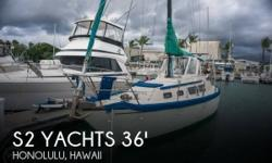Actual Location: Honolulu, HI - Stock #101145 - This vessel was SOLD on May 9.If you are in the market for a cruiser sailboat, look no further than this 1981 S2 Yachts 36 Center Cockpit, priced right at $38,900.This vessel is located in Honolulu, Hawaii