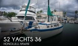 Actual Location: Honolulu, HI - Stock #101145 - Bluewater and Live Aboard Ready! Center Cockpit ~ Rigged for Singlehanded ~ Lots of Space and Headroom!This blue-water ready S2 Yachts world cruiser has crossed both the Atlantic and Pacific and is ready for