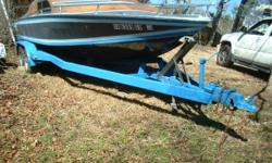 High Performance Cuddy Outboard HullRare California Classic. There are plety of jet powered and Inboard Outboard models but very few Outboard models were built. This hull and transom are in great shape. The boat needs a motor, floor and interior. The boat