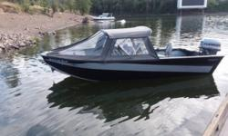 1982 VALCO Aluminum 17 ft Sled boat This is a fully welded 17 ft VALCO JET sled boat in great condition! Powered by a 90 horsepower Evinrude jet drive motor that has just came out of the shop with a complete tune up and lots of new parts! The motor has