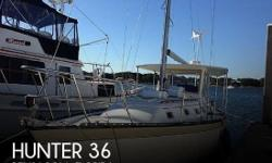 Actual Location: Pensacola, FL - Stock #072903 - If you are in the market for a cruiser sailboat, look no further than this 1982 Hunter 36, just reduced to $44,990 (offers encouraged).This vessel is located in Pensacola, Florida and is in great condition.