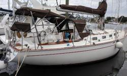 Fresh Water Boat Until 2016! This Classic Cruiser Is In Great Condition   Sjokoladeis a very well maintained, Ted Brewer designed classic cruiser. Morgan 383's offer a ton of value for the money. They are excellent sailors