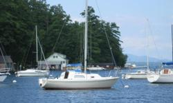 BIG PRICE DROP, THIS BOAT IS NICE WORTH A LOOK SEE The Pearson 26 is one of the most popular small cruisers ever built. It is stable and easy to sail with a large cockpit, a cabin for 2 4, and a marine head. The electric start 2010 Yamaha 8 hp outboard is
