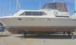 Large spacious live-aboard boat. Full sized kitchen and private bathrooms make it great for entertaining. Luxurious woodwork throughout entire boat. Trades considered. Engine(s): Fuel Type: Gas Engine Type: Stern Drive - I/O Quantity: 2