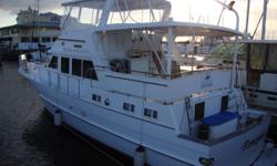 1983 Jefferson 48 Rivanna Cockpit MY ***RECENTLY REDUCED*** Perfectly set up as live-aboard or extended cruising. Large open galey down with full size firdge/freezer with ice maker, glass cook-top, convection microwave. Forward is the second head and a