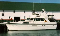 """1983 Hatteras 53 Motor Yacht """"Perfect Lady"""" Is just that, Perfect!!! This is a Bristol example of what a Hatteras should be. Professionally maintained, heated storage and used in freshwater her whole life this Hatteras will make someone a very beautiful"""