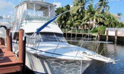 (LOCATION: Lighthouse Point FL) This Bertram 38 Convertible is a classic deep-V sport fisherman that has been extremely popular with offshore anglers. Large enough for comfort and small enough for legendary maneuvering, this fisherman provides an