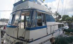 This season spend the holidays in this beautiful Bertram 46.6 This is one of those opportunitiesyou don't want to miss! It has been kept very well by the owner and ready for a big fishing trip! The Bertram 46.6 offers a lot of room for a yacht
