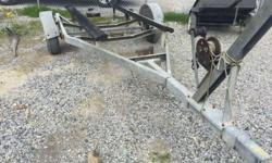 1983 Galvanized Trailer 16'-18' Galvanized Steel Trailer for 17'-18' Boat Galvanized Steel Trailer for 17'-18' BoatHave a good Hull but NO Trailer? Is your Trailer not Travel Worthy? Come See us at The Boat Yard Inc. and check out our inventory of New and