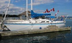 1983 Hunter 34 SL 1983 Hunter 34.5 sailboat for sale Clean boat Sleeps 6 Galley Propane stove with oven Full Head Teak interior Yanmar diesel engine 2 deep cycle batteries with battery charger conditioner Interior and exterior cushions (just cleaned) New