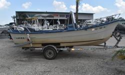1983 Lavro 20-D, 1983 Lavro Sports Fisher 20D2004 Yamaha 90 hp 1985 Calk BT single axel trailer The sports fisher is equipped to give the sports fisherman who appreciates the open see air all of the room , comfort and convenience he could want. Standard