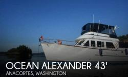 Actual Location: Anacortes, WA - Stock #108812 - If you are in the market for an aft cabin, look no further than this 1983 Ocean Alexander 43 Flush Aft Deck, priced right at $55,600 (offers encouraged).This vessel is located in Anacortes, Washington and