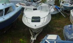 Smallest Cuddy Needs Outboard Great little boat for restoration. It needs cockpit interior replaced. The cuddy cabin v birth itself is in pretty good condition. There is a place for a porta potty. Was last powered by an Johnson / Evinrude. The pictured