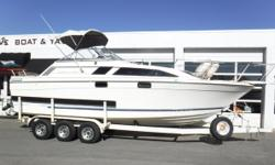 VESSEL HAS ONLY BEEN IN FRESH WATER! Twin Volvo Penta 175A V6 engines, aprx 1,,166 hours since 1991 Twin Volvo Penta 280 sterndrives Triple-axle trailer w/electric brakes, custom rims, side guides & spare New rear axle in 11/2018 Starboard engine has new