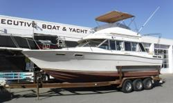 Vessel has ONLY been in fresh water! Twin Volvo Penta 5.7L, 260 hp engines, aprx 408 hours Twin Volvo 260A sterndrives Triple-axle trailer w/electric brakes, side guides, custom rims & spare tire New bellows in 1/2017 Extra set of props (in engine room)