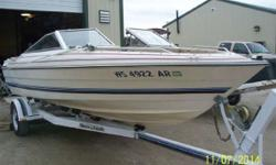As you can see by the pictures this boat is nice. Powered by a Volvo 225 Hp I/O you will have power enough to glide over the water. Hurry, this one won't last at this price!! Now on Clearance! - 1984 Bayliner 19' Capri 1950 BR Nominal Length: 19'