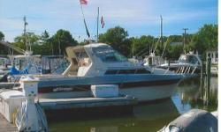 This Cruisers 296 Avanti Vee was built with rugged nautical integrity, designed to provide maximum cruising convenience and styled with a subtle European touch for lasting good looks and value 1984 Cruisers Avanti Vee powered with twin V8 gas engines