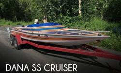 Actual Location: Wasilla, AK - Stock #110623 - If you are in the market for a high performance, look no further than this 1984 Dana SS Cruiser, just reduced to $15,000 (offers encouraged).This boat is located in Wasilla, Alaska and is in great condition.