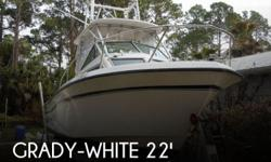Actual Location: Port Saint Joe, FL - Stock #041182 - RE-POWERED YAMAHA 4-STROKE ON THE BACK! ***TRAILER INCLUDED*** ALL REASONABLE OFFERS CONSIDEREDThis 1984 Grady-White 240 Offshore is powered by a 2004 Yamaha 4-stroke - 225 HP **TRAILER INCLUDED**The