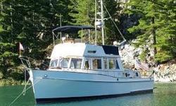Clean 42 Classic with Naiad stabilizers, updated electronics and bow thruster.  All window tracks replaced and bedded. Very nice! Nominal Length: 42' Length At Water Line: 40.5' Length Overall: 42' Max Draft: 4.2' Engine(s): Fuel Type: Other Engine