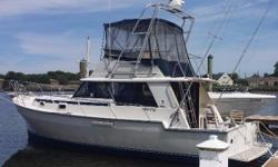 Major Price Reduction 5/1/2016 The owner has his new boat! The Mainship 34 III is a refined and more stylish version of the original Mainship 34 (1978–82). In the 34 III, the salon isslightly lengthened and the extended hardtop of