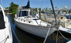 """Starboard Tack"" is a clean and well kept vessel that would make a great family cruiser,  live aboard or island Hopper.  The layout is very open and roomy. The Pearson 385 is a tribute to William Shaw's design talent. Please be sure to see full"