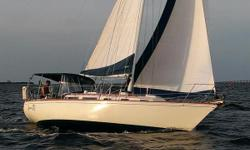 Gorgeous Sabre Sloop In Excellent Condition Be Sure to Watch the Video Above! The Sabre 34 is well known for its balance of comfortable accommodations and performance sailing characteristics. Sabre Yachts have a reputation for top notch build