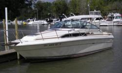 One owner boat here always in fresh water. Very clean well maintained boat. We have been servicing this boat for the past 20 years. Beam: 10 ft. 0 in. Compass; Depth fish finder; Stove; Boat cover; Vhf radio; Stereo; Bimini top; Shore power; Gps loran;