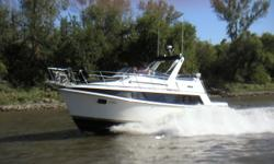 Lot's of room on this 40' boat! It's loaded! Full galley, large fridge/freezer, 3 burner electric stove, oven, microwave, double stainles steel sink, wet bar with ice maker, full vanity in master with sink, full stand up shower with bench, vacu flush