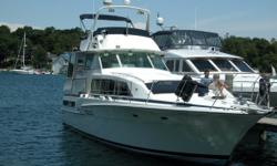 1985 Bertram Flybridge Cruiser Fore Knots is a classic 2 stateroom Motoryacht a fresh water boat. In Bristol condition new drapes carpet vinyl flooring and more. add Marquipt Sea StairsMeasurements add RosKelly-Olsson Dinghy liftCruising Speed 16.0 kn.