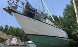 "Major price reduction! Custom steel Bruce Roberts 44! Outfitted for cruising or for charter. Conveniently located in a DIY boatyard in Green Cove Springs, FL, ""Melody"" is ready to go back to sea with a loving new owner. She is a solid and seaworthy"