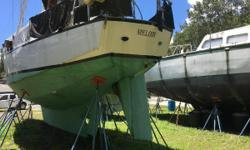 "Custom steel Bruce Roberts 44 at incredibly low price! Outfitted for cruising or for charter. Conveniently located in a DIY boatyard in Green Cove Springs, FL, ""Melody"" is ready to go back to sea with a loving new owner. She is a solid and seaworthy"