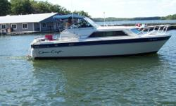 1985 Chris Craft 281 Catalina 1985 Chris Craft 281 Catalina Very well maintained Twin MerCruiser 260hp engines that only have 500 hours on them This boat has the velvet drive transmissions Full enclosed canvas cover with screen room All original with