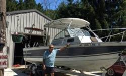 1985 Crestliner Crusader Reconditioned Crestliner New hard top bimini 140 Mercruiser engine 2 Big Jon captain down riggers Depth and fish finder Marine radio All other equipment ready to fish Unit is located in Cedar MI. Financing Nationwide Shipping and