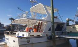 (LOCATION: New Port Richey FL) This DeFever 48 Tri-Cabin is a serious blue water cruiser with classic style and accommodations. She is heavily built and designed to take you anywhere, in any weather, and do with comfort and style. Whether you are