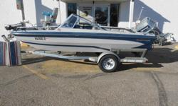 1985 Glastron T-162 equipped with Evinrude 90 hp outboard motor and Evinrude Scott 12V trolling motor. Boat includes rear ladder, radio and single axle trailer. 6 person capacity. Please call before coming to view as our inventory changes location