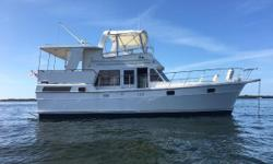 Great Trawler - Perfect for Live-Aboard or Cruising the Coastline or the Loop Very EfficientTwin Bowman Perkins - Bowthurster 8kw Westerbeke Generator with 3,200 hours Call Now For Details Nominal Length: 40' Length At Water Line: 38' Length