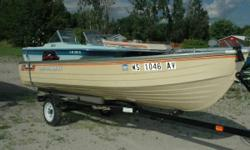 1985 MirroCraft 14' Deep Fisherman If you love to fish, this is the boat for you. A very clean MirroCraft 14' Deep Fisherman, the engine that propels it is a 2003 Mercury 15 4-Stroke. Here is your opportunity to get on the water and do some serious