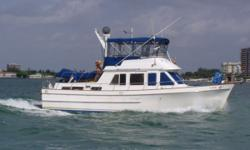 Great Loop? Bahamas? This great Ocean Alexander is ready to take you to all your dream destinations! 2007 Boss Boat Dinghy w/ 15 hp Tohatsu Motor w/ spare prop Nautical Structures Dinghy Davit Village Marine Water Maker Detailed Maintenance Logs