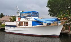 This Ed Monk designed for Ocean Alexander semi-displacement trawler has treated her owner well. Kia Ora will make a great live aboard and is the perfect vessel for cruising the Islands. Her previous owners have extensively traveled from the Chesapeake Bay