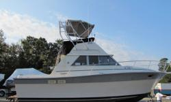 JUST REDUCED FOR A QUICK SALE!!!!!!!!!!!!!! A nice weekend retreat for the family and a great setup for cruising the shore. This 31 Silverton is very clean, well maintained, and has ample room inside with many upgrades. Nominal Length: 31' Length