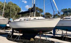 Sleeping Beauty is a very well-kept, clean and recently upgraded example of Tartan?s popular 3000 model. Designed by Sparkman & Stephens, the 3000 is known as a fast, solid and comfortable racer/cruiser with a classic interior. She is one of the shoal